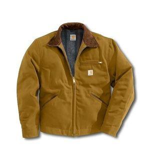 Carhartt J01 Duck Detroit Jacket Blanket Lined